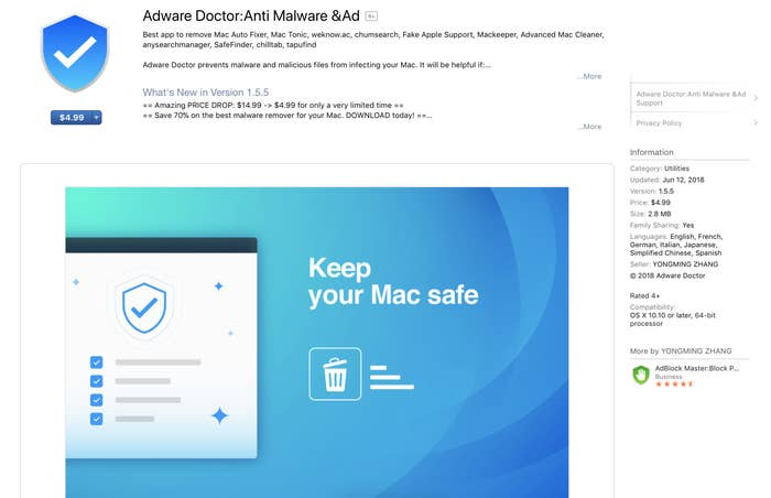 A Popular Mac App That Stole Users' Browsing History Has Been Removed