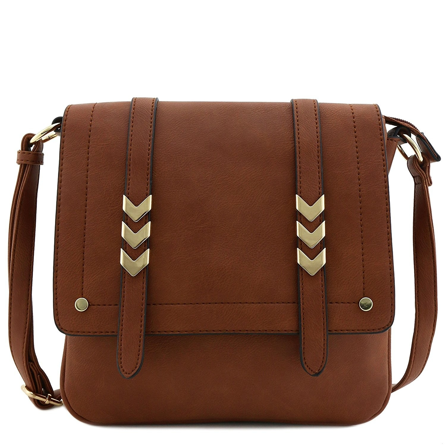 65252a51a8ed An all-purpose large crossbody with plenty of pockets and cool details on  the straps
