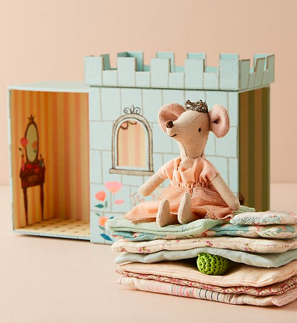 It's like Polly Pocket and Hans Christan Andersen made a whimsical AF toy for the next generation of kids, and I am here for it. Get it from Anthropologie for $50.
