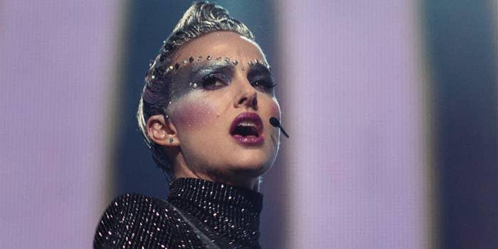 Natalie Portman as Celeste in Vox Lux.