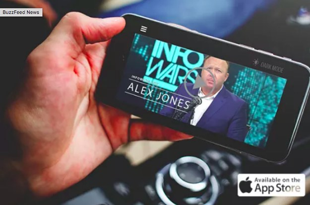 Apple Has Permanently Banned Alex Jones' Infowars App From The App Store