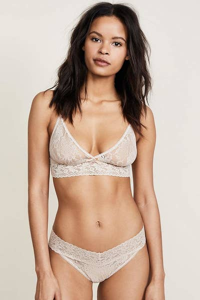 1f146be6bdd42 An investment-worthy Hanky Panky lace thong (touted as the most comfortable  thong in the world) that ll last and last.