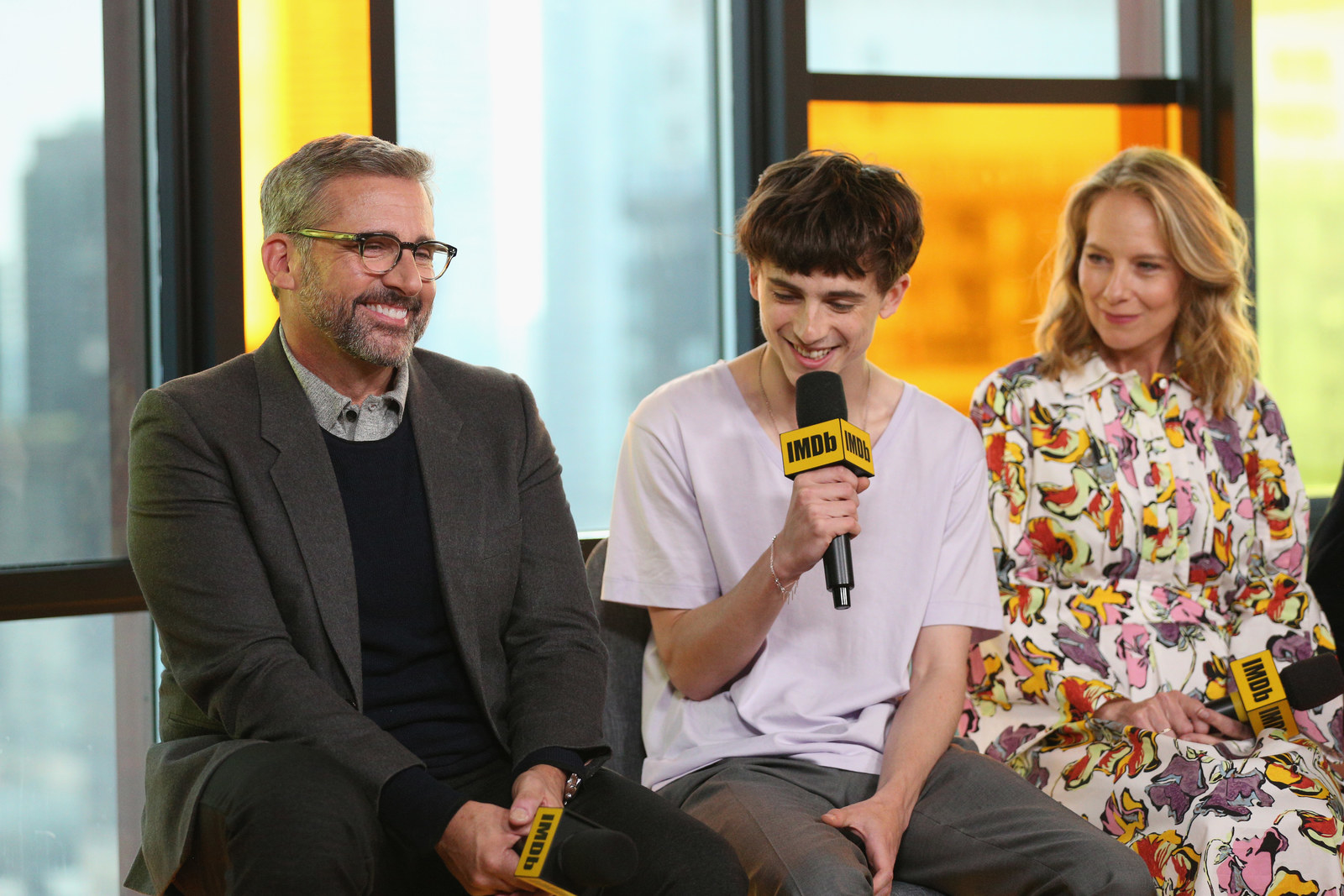 Timothee Chalamet Freaked Out Over Getting To Work With Michael