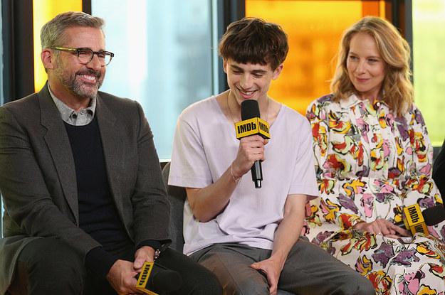 Timothée Chalamet Freaked Out Over Getting To Work With Michael And