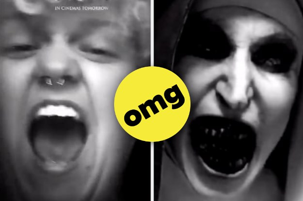 This Snapchat Filter Promoting A Horror Movie Is Scaring The Shit Out Of People