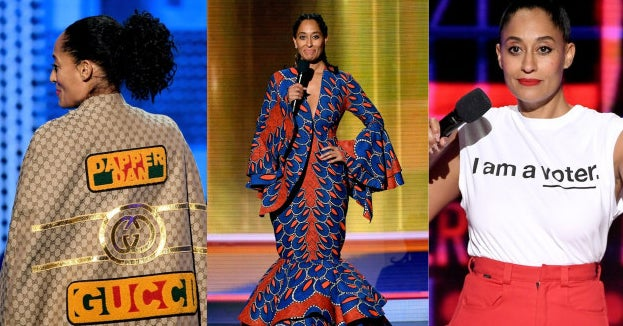 Tracee Ellis Ross Made 10 Unapologetically Black Fashion Statements While Hosting The American Music Awards