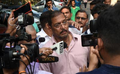 Indian Bollywood actor Nana Patekar