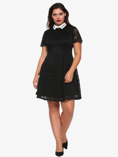 Get it from Hot Topic: sizes XS–3X for $39.92 or plus sizes 0–5 for $43.92