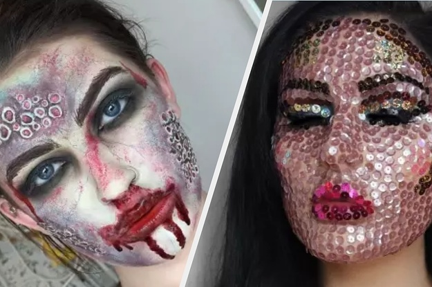 17 Halloween Makeup Looks That Will Help You Figure Out If You