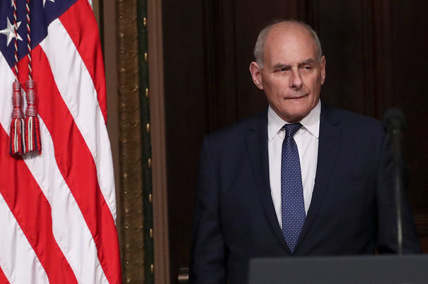 "John Kelly Called Elizabeth Warren An ""Impolite Arrogant Woman"" In An Email"