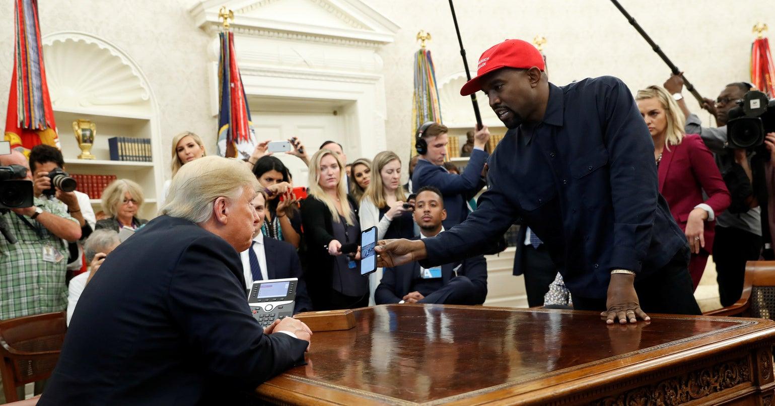 Kanye's Love For Trump Actually Makes Perfect Sense