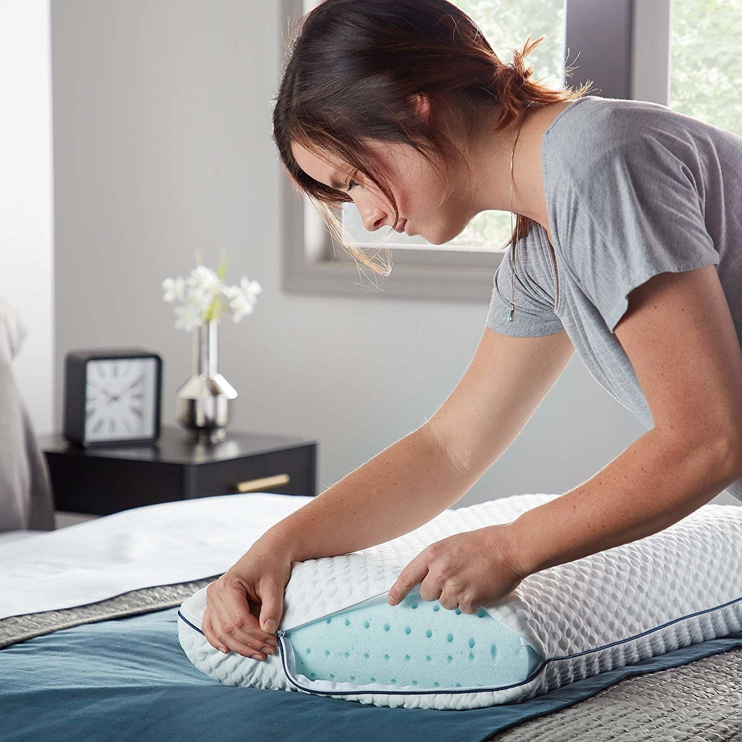 Hundreds Of People Swear By This Stay Cool Ventilated Pillow