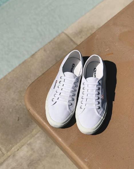 white Superga 2750 COTU Classic Sneakers