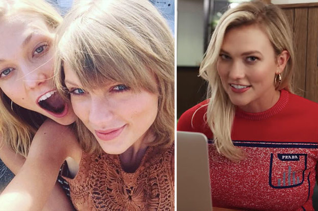 Karlie Kloss Was Straight-Up Asked If She And Taylor Swift Are Cool And Her Answ...