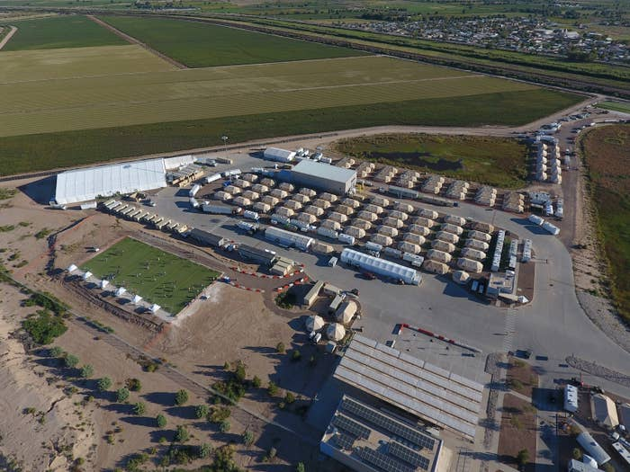 The facility in Tornillo, Texas.