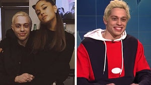 Pete Davidson Joked About Breaking Up With Ariana Grande On