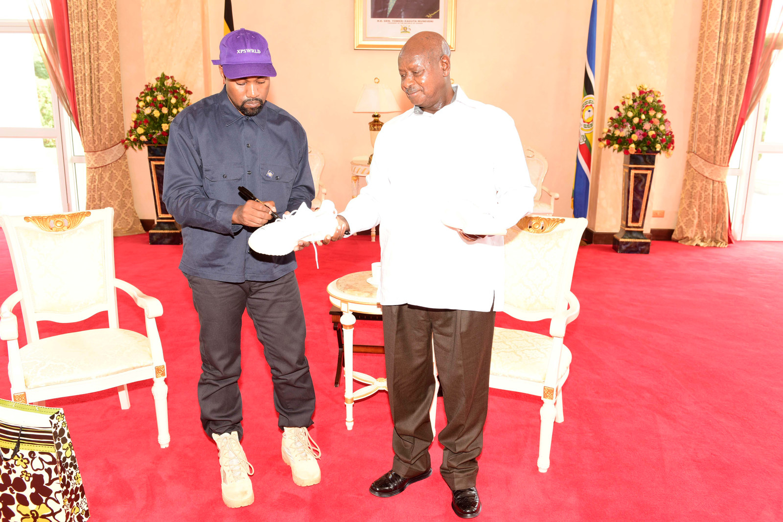 Kanye West Is In Uganda Finishing His Album And People Are Mostly Stoked About It