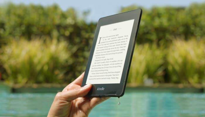 You Can Take The New Kindle Paperwhite To The Pool