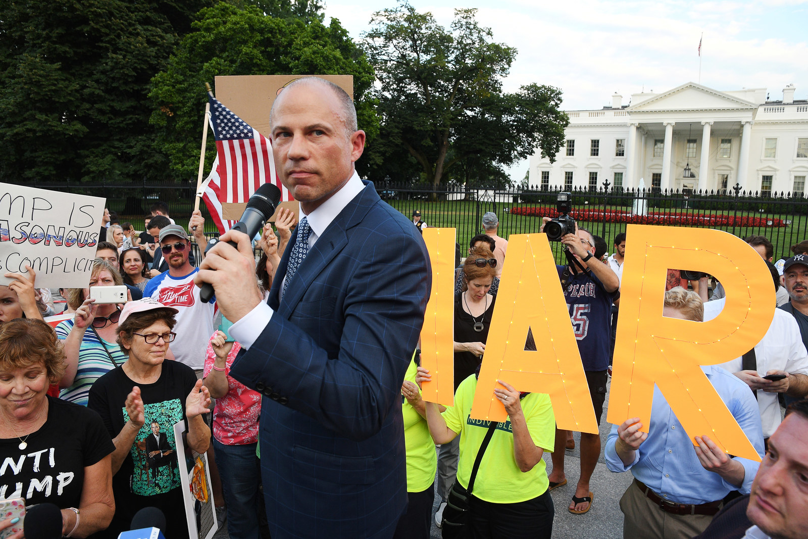 Washington Democrats Think Michael Avenatti Is A Nuisance. He Thinks They're Out To Get Him.