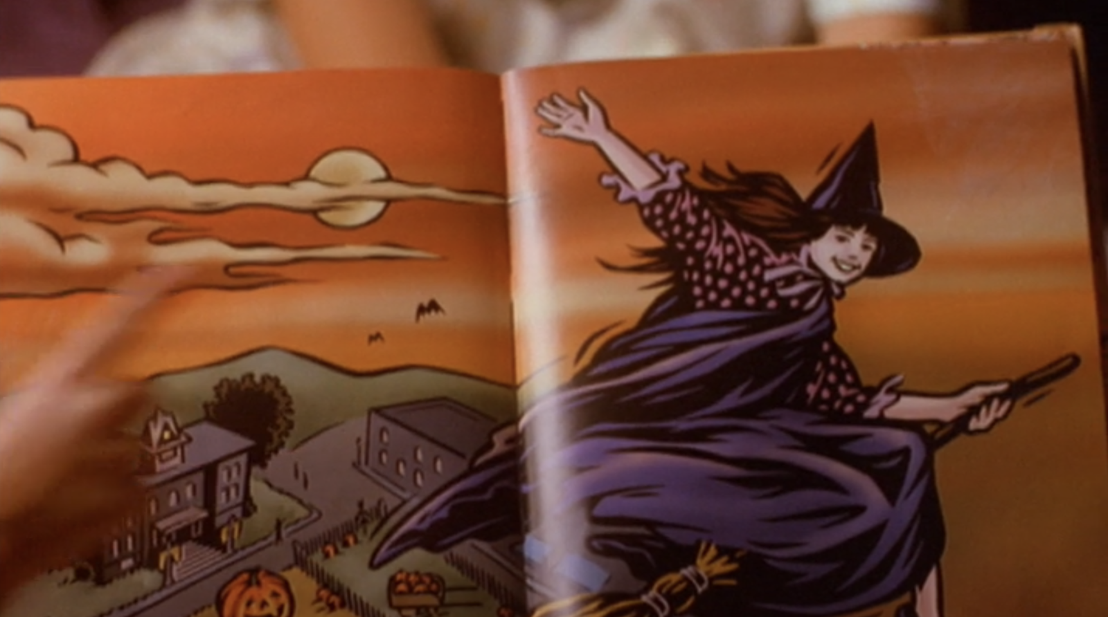It was unfortunately never made for the public, but Kimberly co-wrote and co-illustrated her own Halloween book called Poppin's Pumpkin Patch Parade.