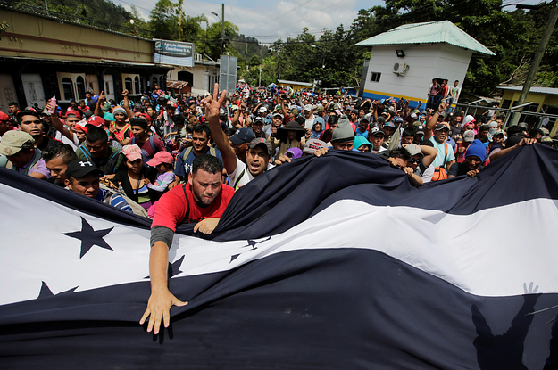 A Caravan Of 1,600 Honduran Immigrants Has Crossed Into Guatemala, Hoping To Reach The US
