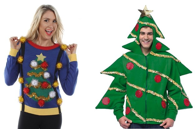 terrible christmas jumpers