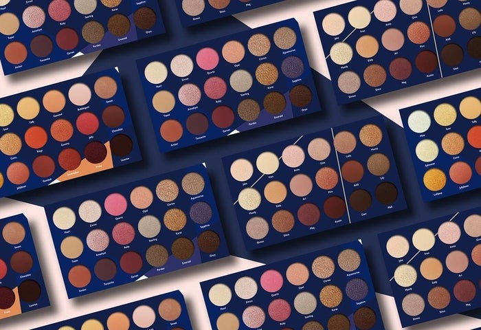 "Promising review: ""I AM BLOWN AWAY BY THE QUALITY. There's almost zero fallout, extremely pigmented colors, blends creamy like butter, and the colors are beautiful. This rivals any of my Too Faced palettes — in fact far less fallout. These are the same quality if not better than my Urban Decay. Seriously not kidding. AND rivals my Kat Von D palettes. I rarely review anything, but this deserved a review."" —Amazon CustomerGet it from Amazon for $12.57 (available in two styles)."