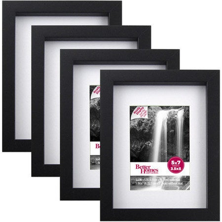 "Set includes four 5""x7"" photo frames.Price: $7.72 ($12.07 off the list price)"