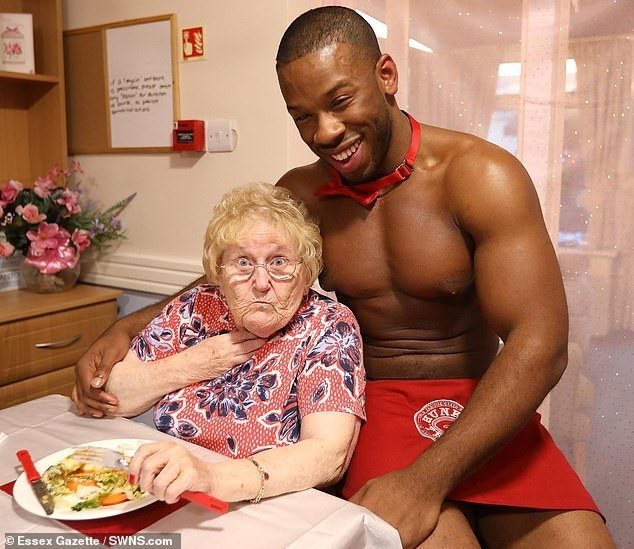 These Nursing Home Residents Got Served By Scantily-Clad Men And It Was Awesome