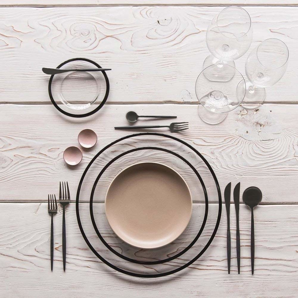 A curvy stainless steel flatware set thatll make you feel like youre eating off a pricey scandinavian tasting menu