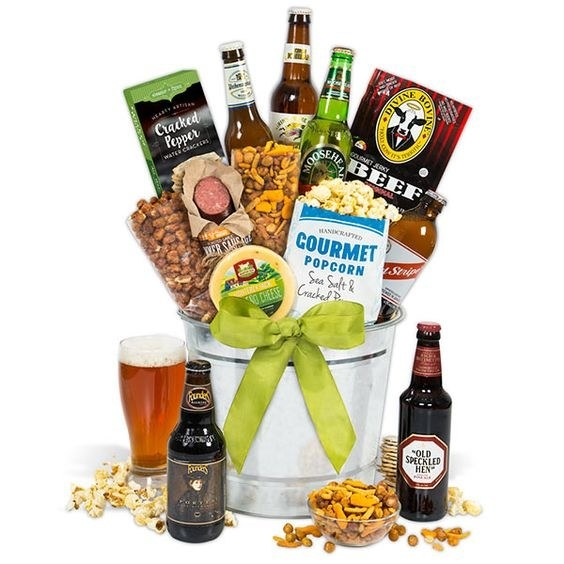 Gourmet Gift Baskets has every kind of basket imaginable, plus straight-up baked goods if you want a less frilly option.