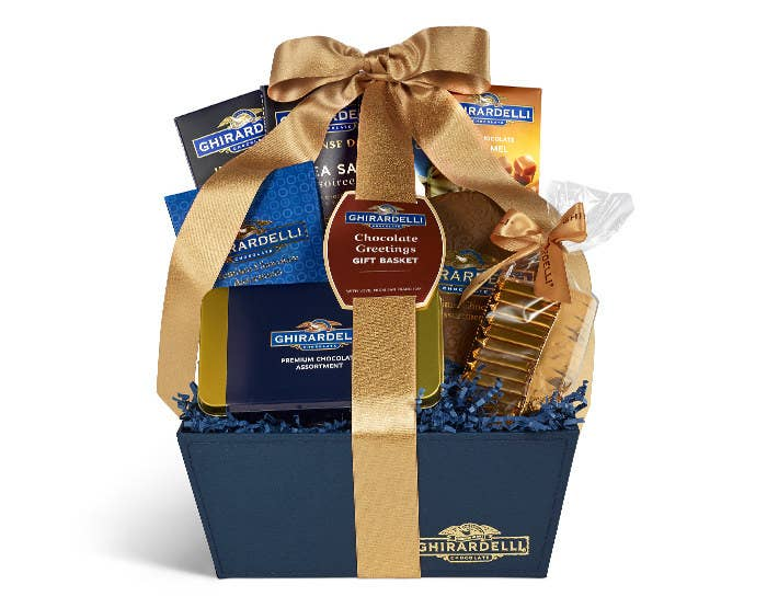 Ghirardelli Has Gift Baskets For Chocolate Celebration Delights Connoisseursyou Get The Point