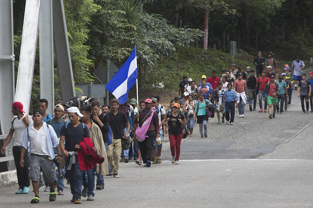 Trump Threatens To Cut Foreign Aid To Central American Countries If They Don't Stop Migrant Caravan