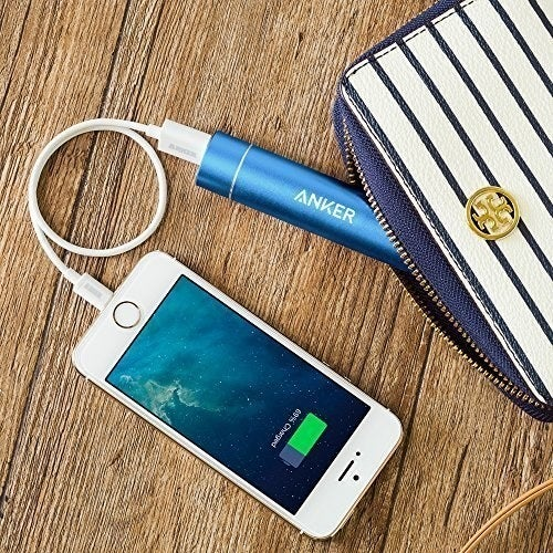 """The lipstick-sized power bank comes with a Micro USB cable, and can quickly give more than a full charge to an iPhone 8 or at least an 80% charge to other smartphones.Promising review: """"I absolutely trust this charger. With a surplus of portable chargers on the market, it's difficult to identify and separate the good from the junk. I've tried over eight different ones and can't say enough about this extremely reliable, user-friendly, and ergonomically distinct product that can fit in your pocket. Of course, it's not going to pack the punch of a big, bulky charger, but that's not the point of this little guy. Even given the small size, it can't be beat. I would argue it's an absolute necessity in this era where phone utilization and battery drainage is a daily occurrence."""" —Braxton AldrichGet it from Amazon for $19.99+ (available in five colors)."""