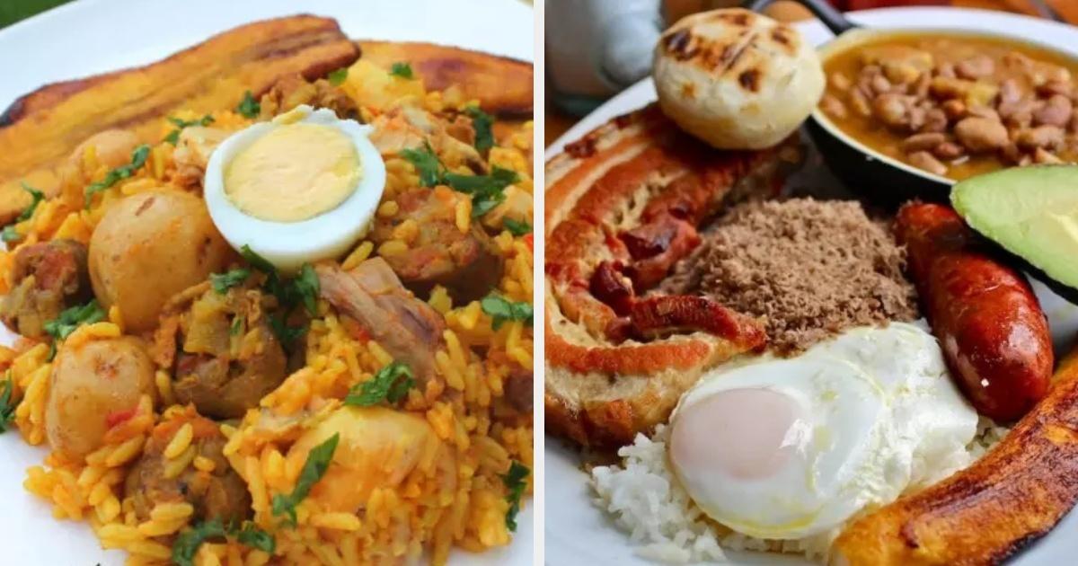 Recetas de comidas rapidas colombia
