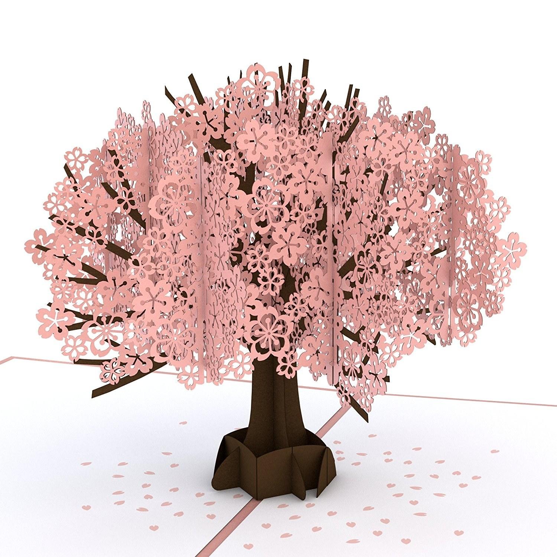 The Cherry Blossom card