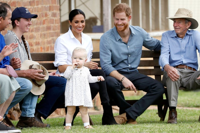"""There is an unspoken rule in the Aussie bush that when one is invited to a person's house, one must """"bring a plate"""", but we all kind of just assumed, with her being a duchess and all, that she would be exempt from such law."""