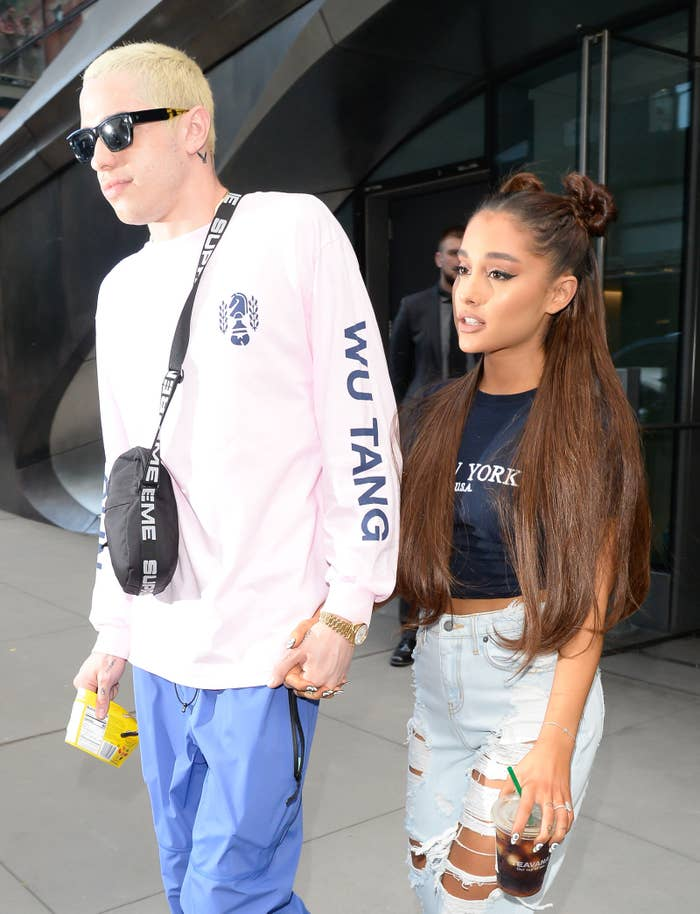 Various other reports are floating around the internet too, saying that Mac Miller's death was a contributing factor to the breakup, and that Ariana has already given her engagement ring back to Pete.