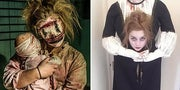 Literally Just 27 Halloween Costume Ideas That Are Reeeeeally Freaking Creepy