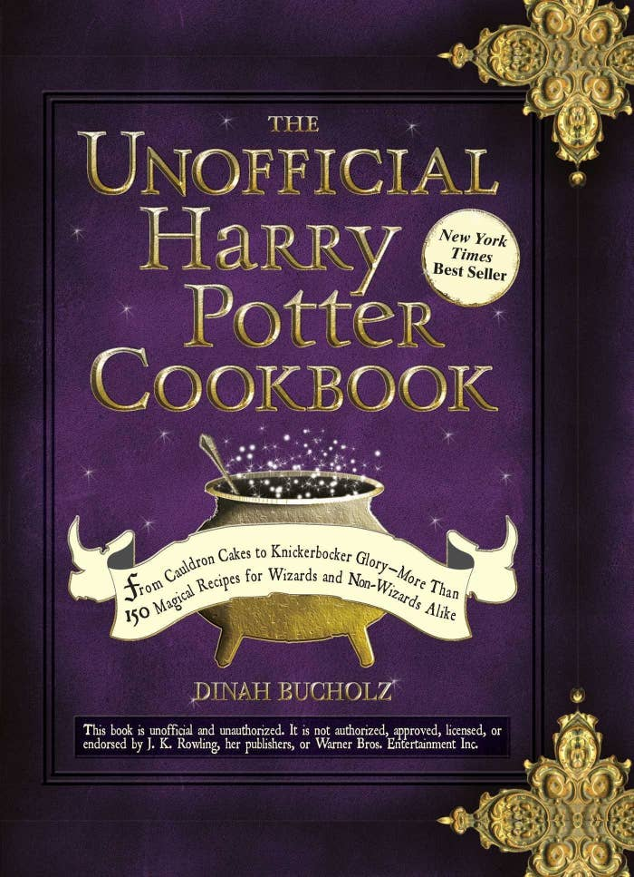 """Promising review: """"I LOVE THIS. I'm no master chef, but this cookbook might change that: I might even become a master wizard chef! Anyways, the recipes are phenomenal. The book has a bunch of cute references, and my younger siblings go crazy whenever I make something from this book. I most recently made the meat and potato pies, which can be found on page 44."""" —TigerlilyPrice: $12.99"""