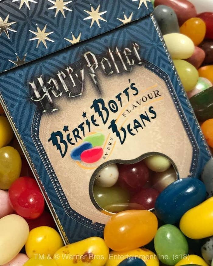 """Promising review: """"These are petty self explanatory if you've seen the movies or read the books. Some are yummy, some are awful! Highly entertaining for kiddos and adults alike."""" —J. RiskinPrice: $3.66"""