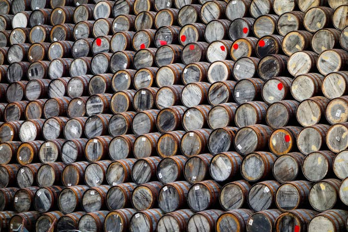 Maturation is what happens over time while the whiskey spends its life in the cask. While the whiskey sits in the cask, it goes through three different processes: additive (absorbing wood sugars, congeners, and color), subtractive (the immature character is removed by the char or toasting layer), and interactive (new flavors and aromas are created through the interactivity of various chemical processes).