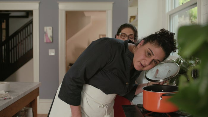 Samin Nosrat and Shahla Simley in Salt Fat Acid Heat.