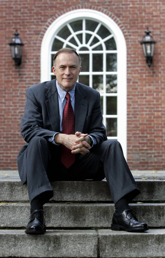 William Fitzsimmons, Harvard University admissions dean.
