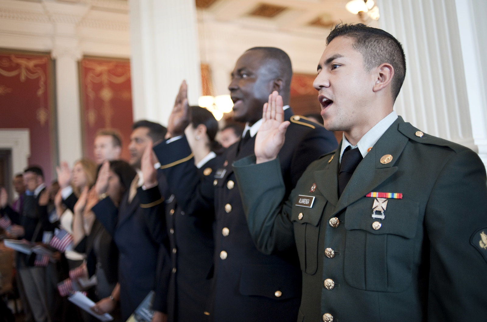 """Immigrant Recruits Are Having Their """"Loyalty"""" Questioned For Following Lawsuits Against The Pentagon"""