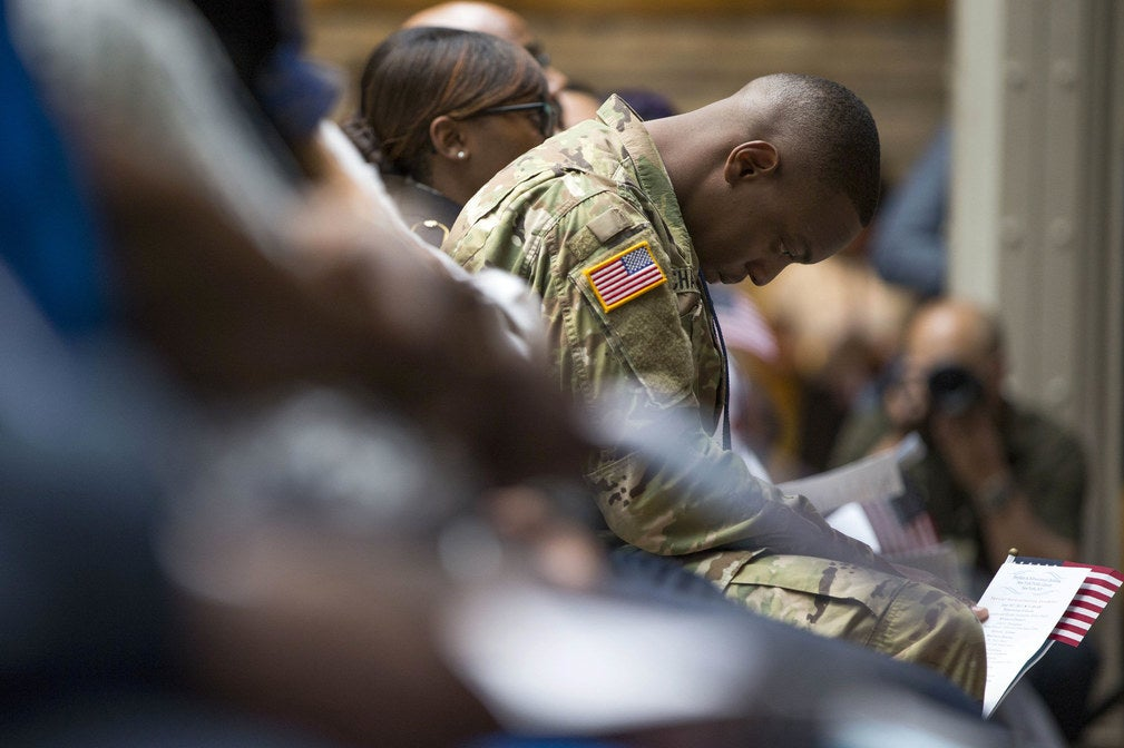 Immigrant Recruits Fear Retaliation For Following Lawsuits Against The Pentagon