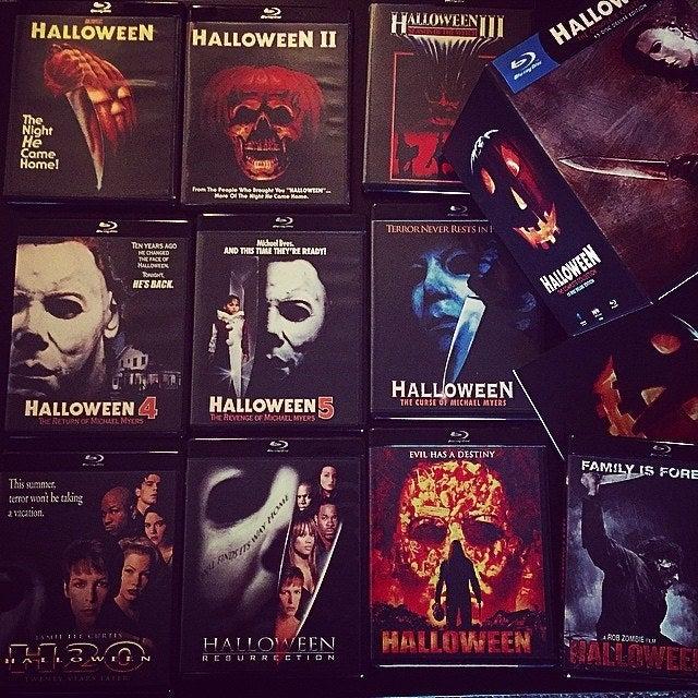 Son siete secuelas de la Halloween original, a eso se le suma el reimagining dirigido por Rob Zombie y la secuela de este. Esas, más la que se estrenará está semana, suman un total de 11 películas de la franquicia.