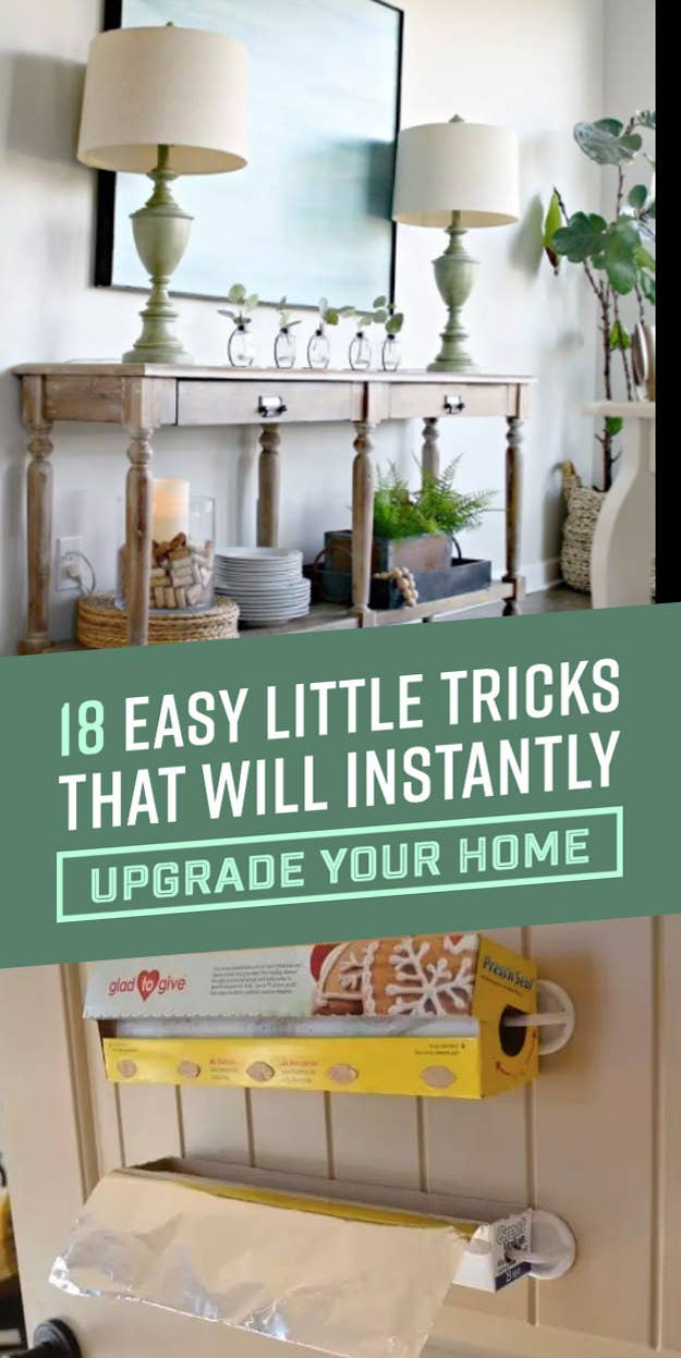 """""""Add privacy to any window while still letting the light come through using cornstarch and water pasted over lace or plain white paper. It's easy to remove, too — just use hot water.""""—Natalie BrownCheck out 18 Quick Home Hacks That'll Make You Say """"Why Didn't I Know About These Sooner?"""" for more."""