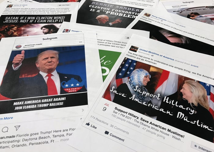 Some of the Facebook and Instagram ads linked to a Russian effort to disrupt the American political process and stir up tensions around divisive social issues.
