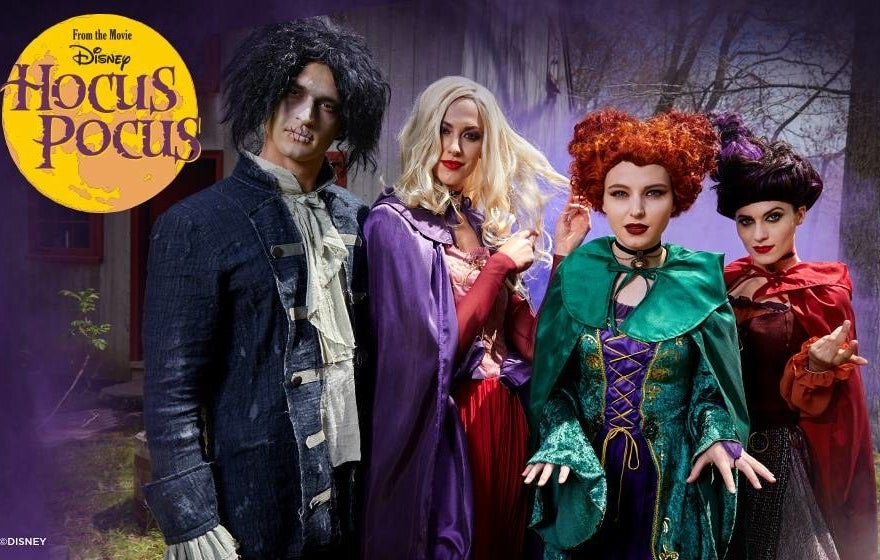 Pricing: $6.97+ Sizing: XS-3X (children's costumes also available) Browse all their Hocus Pocus costumes here.